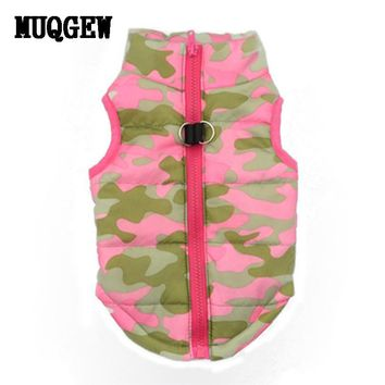 Dog Apparel- Pink Camo Jacket