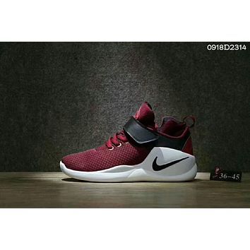 """NIKE""AIR Running Sport Casual Shoes Sneakers Wine red I-CSXY"