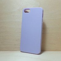iphone 5 / 5s Candy Color TPU Soft Silicone case - Lilac