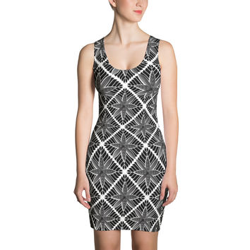 Hoakalei Tribal Hawaiian Design Dress