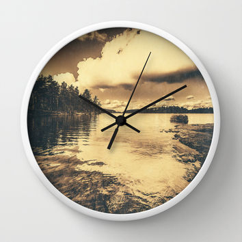 There where times Wall Clock by HappyMelvin