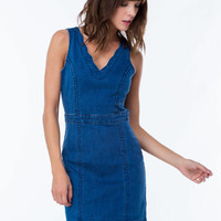 Jean Queen Bodycon Dress GoJane.com