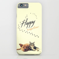 HAPPY TOGETHER - for iphone iPhone & iPod Case by Simone Morana Cyla