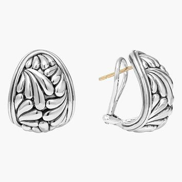 Women's LAGOS 'Flora' Etched Stud Earrings