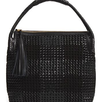 Tory Burch Taylor Woven Leather Hobo Bag | Nordstrom