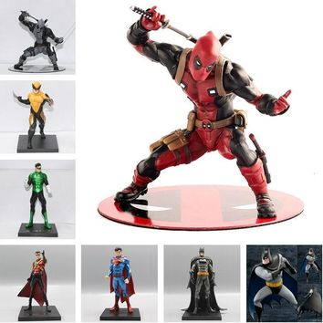 Deadpool Dead pool Taco 1/10 Scale Batman Green Lantern Red Robin Wonder Woman Thor Superman Action Figures Toy Pre-Painted Model Kit ARTFX+STATUE AT_70_6