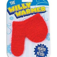 Adult Prank Ideas and Jokes - Willy Warmer Weiner Weener Knitted Sock