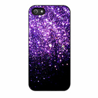 Purple Sparkly iPhone 5s Case
