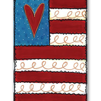 Heart Nylon Flag