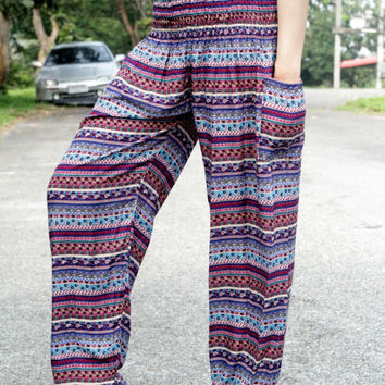Harem pants nightwear baggy pants bohemin style online boutiques/christmas/Yoga pants/palazzo pants/women in yoga pants/boho pants/pyjamas