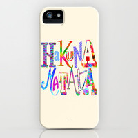 Hakuna Matata iPhone Case by Fimbis | Society6