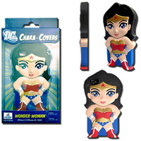 DC Chara-Cover Series 1 Wonder Woman iPhone 4/4S Cell Phone Case - Huckleberry