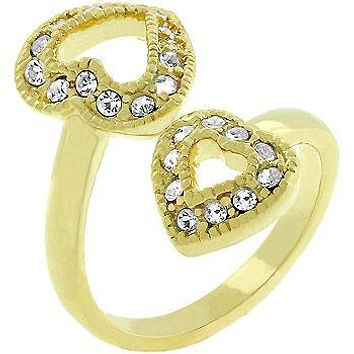 Heart-to-heart Ring
