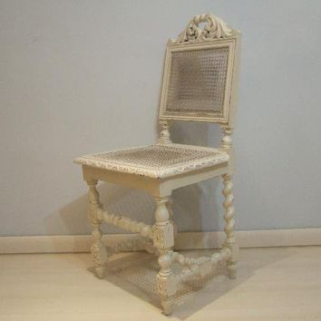 Sedia antiquariato sedie inglesi shabby from for Complementi arredo shabby chic