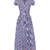 Arrow Print Poplin Dress - Marc Jacobs