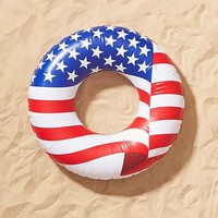 Americana Ring Pool Float- Multi One