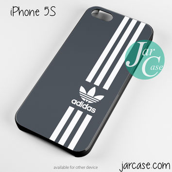black straight adidas Phone case for iPhone 4/4s/5/5c/5s/6/6 plus