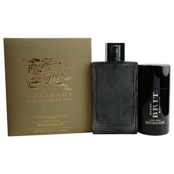 Burberry Gift Set Burberry Brit Rhythm By Burberry