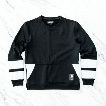 Courtesy Of The Vettel Crewneck Sweater - Black