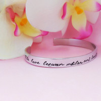 Mother daughter cuff