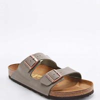 Birkenstock Arizona Birko-Flor Sandals in Stone - Urban Outfitters