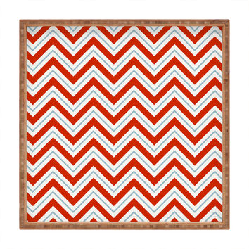 Caroline Okun Peppermint Square Tray