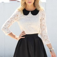 SABO SKIRT  Charlize Top - $42.00