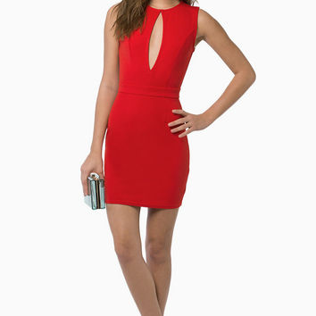 Sleeveless Zipper Back Bodycon Dress