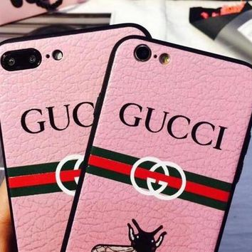 GUCCI Bee iPhone Phone Cover Case For iphone 6 6s 6plus 6s-plus 7 7plus 8 8plus