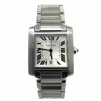 Cartier Tank Francaise swiss-automatic mens Watch W51002Q3 (Certified Pre-owned)