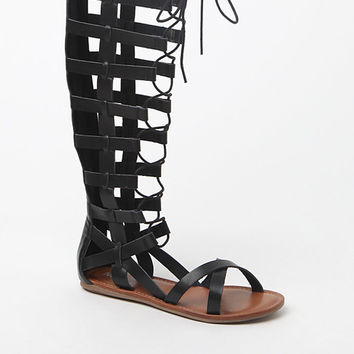 Mia Devi Tall Gladiator Sandals at PacSun.com
