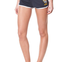 NYPD Ladies Navy Short With White Piping