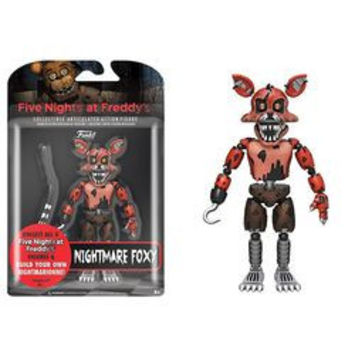FIVE NIGHTS AT FREDDY'S - NIGHTMARE FOXY ACTION FIGURE