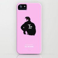 TELL ME MORE (Grease) iPhone & iPod Case by COMME UNE AFFICHE AU MUR