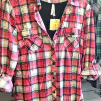 Country Backwoods Flannel - Pink
