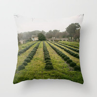 Van Gogh's View  Throw Pillow by Around the Island (Robin Epstein) | Society6
