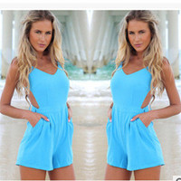 Stylish Hot Sale Backless Sexy Romper [6315448769]