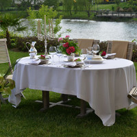Palm Beach Tablecloth - Washable - Coated for Easy Care