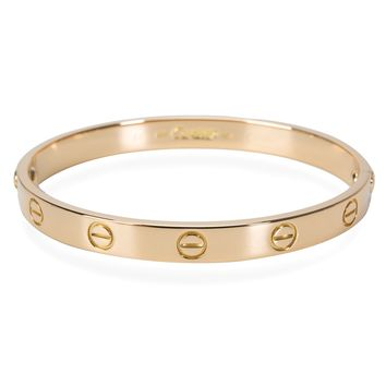Cartier Love Bracelet in 18KT Yellow Gold