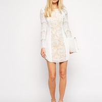Stylestalker Lana Lace Panel Dress