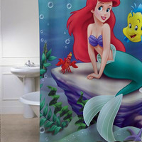 The Little Mermaid special shower curtains