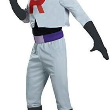 Team Rocket James Pokemon Adult Costume