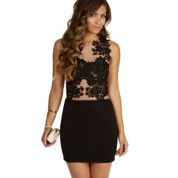 Black Catwalk Dress