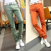 Slim Fit Men Casual Pants