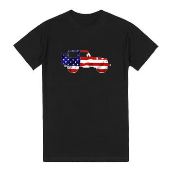 American Flag Jeep Wrangler (blk)