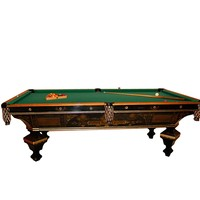 80.7137 Antique Brunswick Brilliant Novelty Pool Table