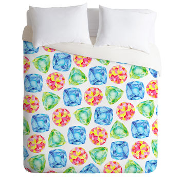CMYKaren Jewels Duvet Cover