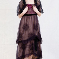 Victorian trading Co. - www.victoriantradingco.com - Midnight Garden Dress