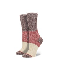Stance | Winter Camp Wine Grey Heather socks | Buy at the Official website Main Website.
