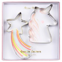 Unicorn and Shooting Star Cookie Cutters